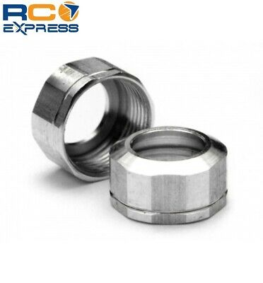 - HPI Racing Shock cap 12x.08mm (silver/grooved) HPI72100