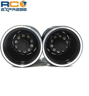 Tamiya 1/14 Tractor Truck Aluminum Rear Wheels TTR112R01, used for sale  Shipping to India