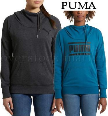 WOMENS PUMA REFRESH HOODIE! PUMA REFRESH PULLOVER FRENCH TERRY LINED HOODY! Terry Lined Hoody