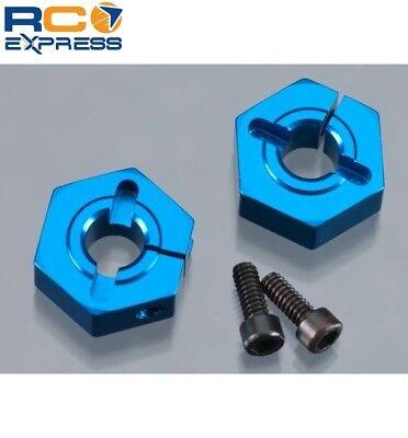 Associated Wheel - Associated Aluminum Clamping Wheel Hex 12mm Front B4 B44 ASC9891