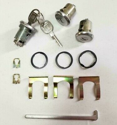 NEW 1977-1994 Chevrolet Impala & Caprice- Door & Trunk Lock set with GM keys