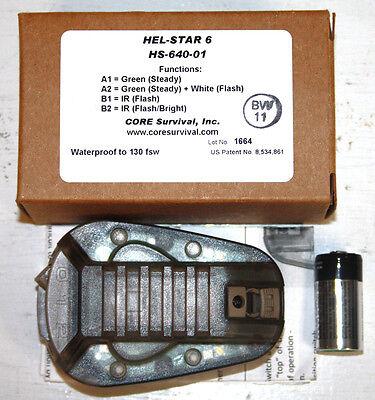 USMC Hel-Star 6 Helmet Light NEW IN BOX LOOK!!!!