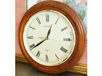 SEIKO Wall Clock - elegance high quality