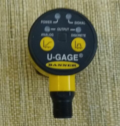 Banner  U-Gage T30UUNAQ Ultrasonic Sensor, New,