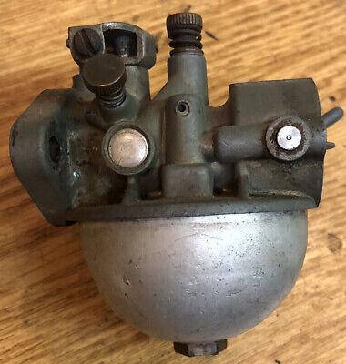 Carter Model N Carburetor For Vintage Reo Gas Engine 1950s Round Bowl 927s