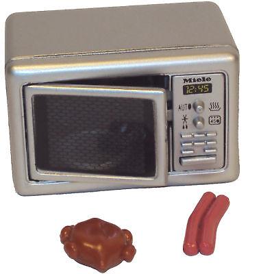 "Mini-Mikrowelle ""Miele"" Spielzeug 1:12 Miniatur für Puppenhaus, Klein 7818"