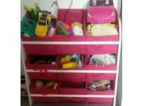 Toy storage or display rack