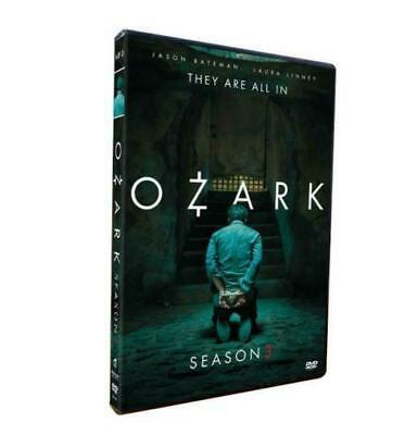 ozark - 3 dvd set - season 3~ 2020 Jason Bateman tv show !! usa seller NEW !!!