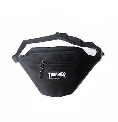 Thrasher - Crossbody/Shoulder Bag - Fanny Pack (Black)