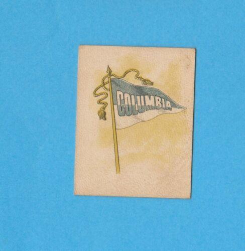 c1910s tobacco leather L21-3 COLUMBIA UNIVERSITY  Nice!! #2