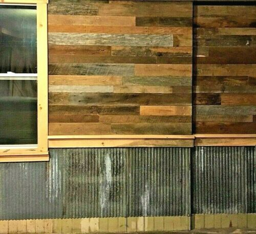 "*10 SQ. FOOT* (3"" WIDE) RECLAIMED WOOD ACCENT WALLBOARDS FROM BARN LUMBER"