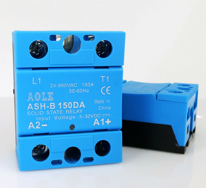 High Voltage Single Phase Solid State Relay ASH-B 150DA 150A 660VAC