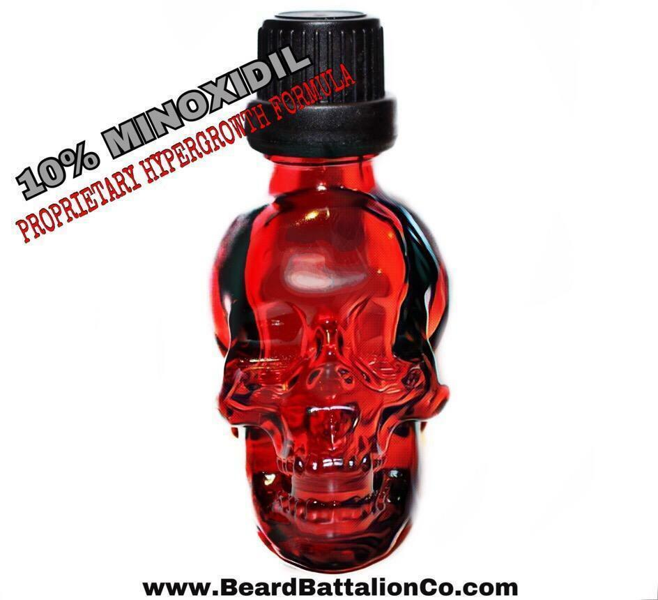 MINOXIDIL 10% Formula Made for BEARD GROWTH - Beard Battalio