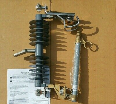 Stainless Steel Electrical Power Line Cut Out 100amp 27kv Overhead Type C Fused