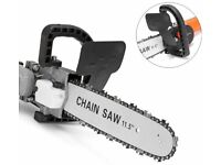 11.5 Inch Chainsaw Adapter Kit to fit 100 Angle Grinder, New in Box