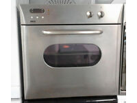 a439 stainless steel zanussi single integrated electric oven comes with warranty can be delivered