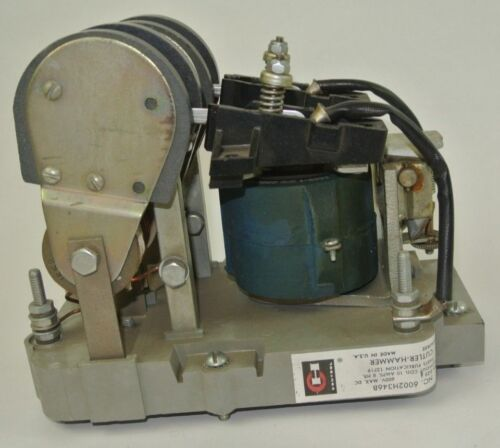 CUTLER-HAMMER 6002H346B CRANE CONTROL CONTACTOR - 230VDC -10A  NEW SURPLUS