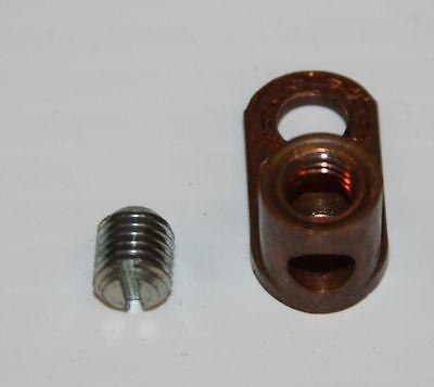 OEM Ground Lug & Set Screw--T5365A-Motorola Quantro/Quantar Radio Repeater/Base
