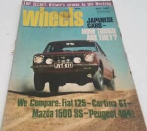 July 1968. 51st Birthday Present. Wheels Magazine. Free Post.
