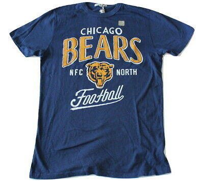 Junk Food Brand Chicago Bears Kickoff Crew T-Shirt Relaxed Fit NWOT Chicago Bears Crew Shirt