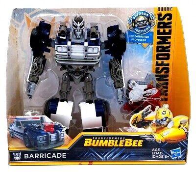 Transformers Bumblebee Movie Barricade Action Figure Age 6+ Hasbro NEW