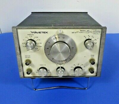 Wavetek Model 142 Hg Vcg Frequency Generator- Free Shipping