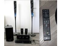LG BLUE RAY HOME CINEMA SYSTEM WITH IPAD /DOCKING STATION / CONTROL