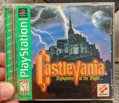 Castlevania: Symphony of the Night PS1 (Sony PlayStation 1, 1997) Castlevania Symphony Of The Night Playstation