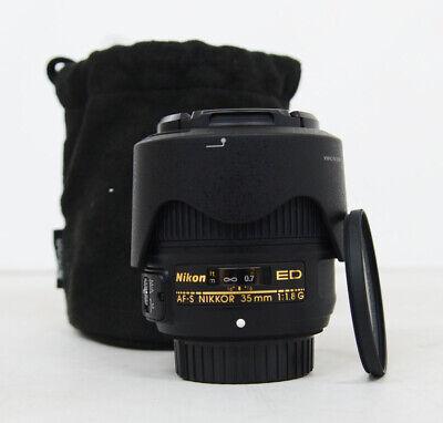 NIKON AF-S NIKKOR 35mm f/1.8G ED + Filter