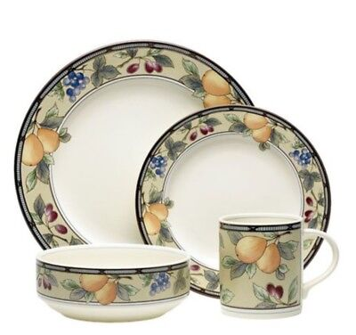 Harvest Porcelain Dinnerware (Mikasa Garden Harvest 12 person Dinnerware Sets )