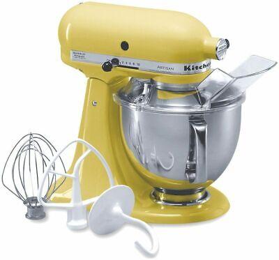 **NEW** KitchenAid KSM150PSBF Artisan Series 5-Qt. Stand Mixer - Buttercup