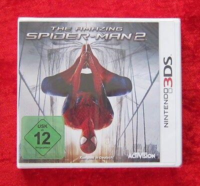 The Amazing Spider-Man 2, Nintendo 3DS 3D Spiel, Neu, deutsche Version