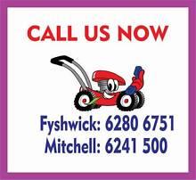 Lawn Mower Service Special - FREE blades Save $$$$$$$$$$$$$$ Fyshwick South Canberra Preview