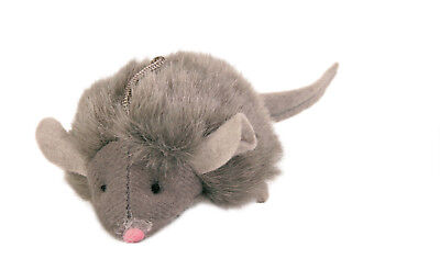 Trixie Squieky Maus Spielmaus für Katzen 6 cm, mit Sound