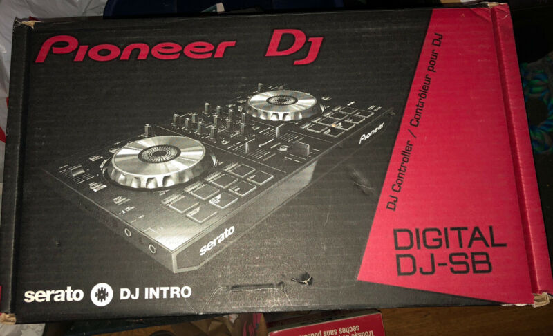 Pioneer Digital DJ-SB SERATO DDJ-SB/S XJ5