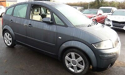 AUDI A2 14 TDI diesel 2002 breaking all parts available dolphin grey LX7Z