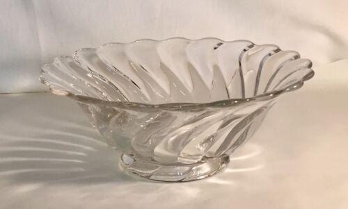 "Fostoria Crystal Colony 8 1/2"" Flared Bowl"