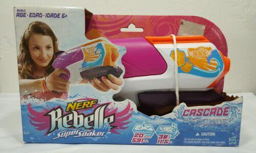 Nerf Girls Rebelle Super Soaker Cascade NEW