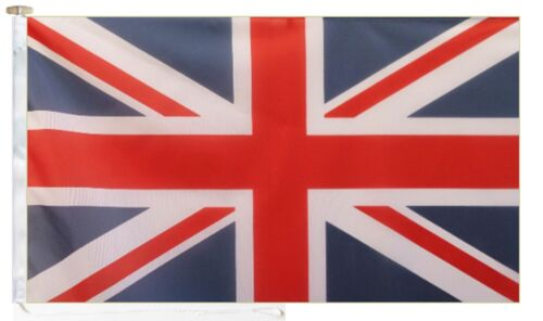 Union Jack Flag United Kingdom UK With Rope & Toggle 6