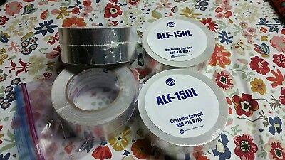 3 Full 1 Partial Ipg Intertape Aluminum Foil Alf-150l Hvac 1.5 Ml Atape 2x150