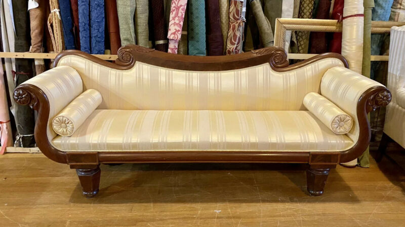 American Classical Empire Sofa. American. c.1830