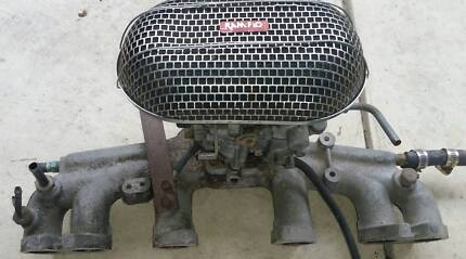 DATSUN L26 - L28 2 BARREL CARBIE WITH MANIFOLD Port Adelaide Port Adelaide Area Preview