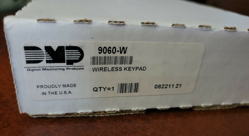 DMP 9060-W White Wireless Thinline Series Keypad 2 available! New open box!