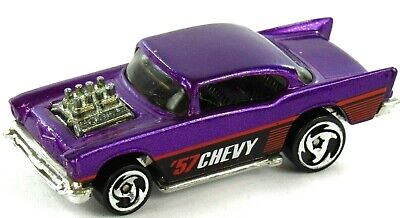 Hot Wheels 1976 '57 Chevy 1:64 Scale Purple