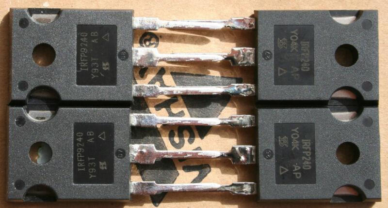 4 X IRFP240/IRFP9240 (Matched quad)