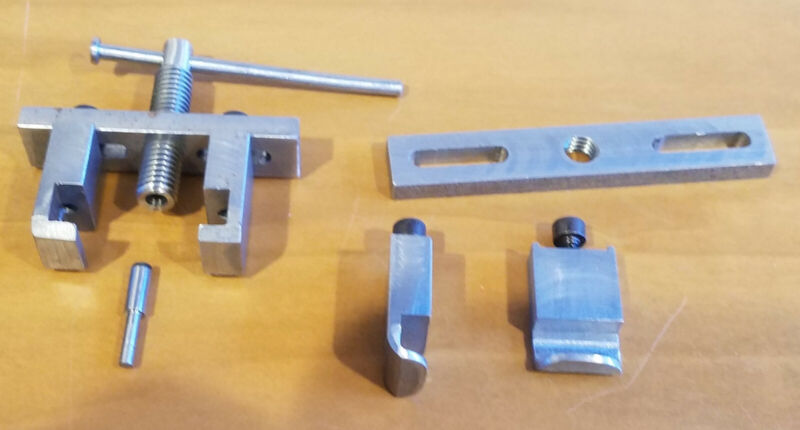 PE Design - STD & O gauge Wheel Puller w/ Standard & Special Duty Jaws Comb