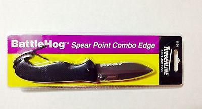 Timberline Knife & Tool - BattleHog Spear Point Combo Edge #1164 for sale  Irving