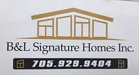 B & L Signature Homes INC.