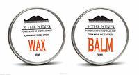 2 The Nines ™ Salón 30ml Cera Para Bigotes & 30ml Bálsamo De Barba - Mandarina -  - ebay.es