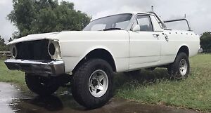 1972 Ford XY Falcon 4x4 4wd Ute Genuine Matching Numbers Pitt Town Hawkesbury Area Preview